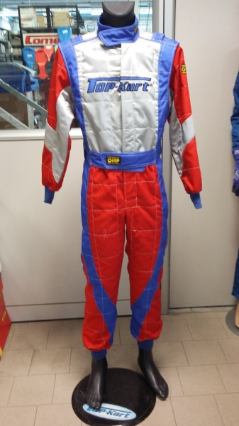 Topkart/OMP co branded race suit